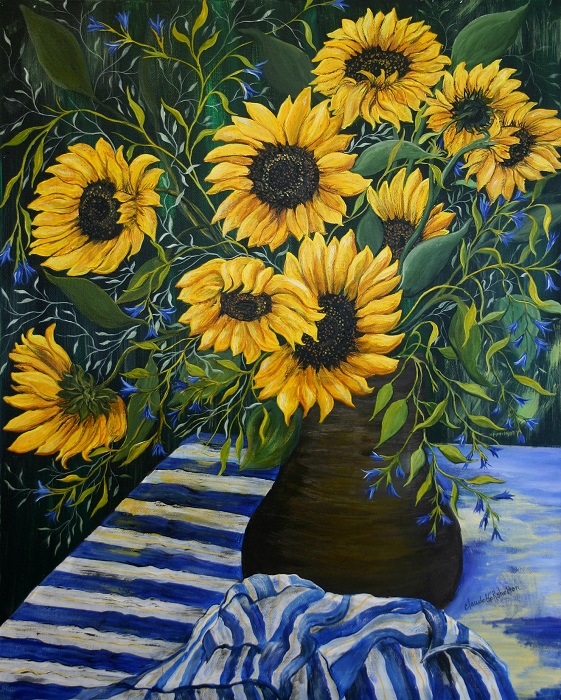 Sunflowers and Stripes_700H.jpg